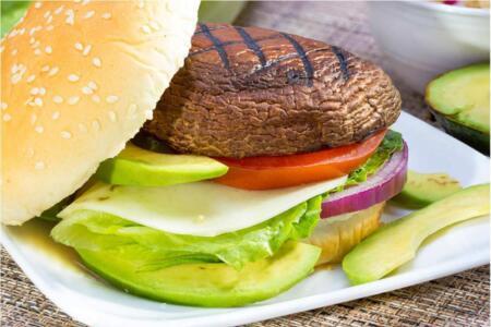 Portobella Mushroom Burgers